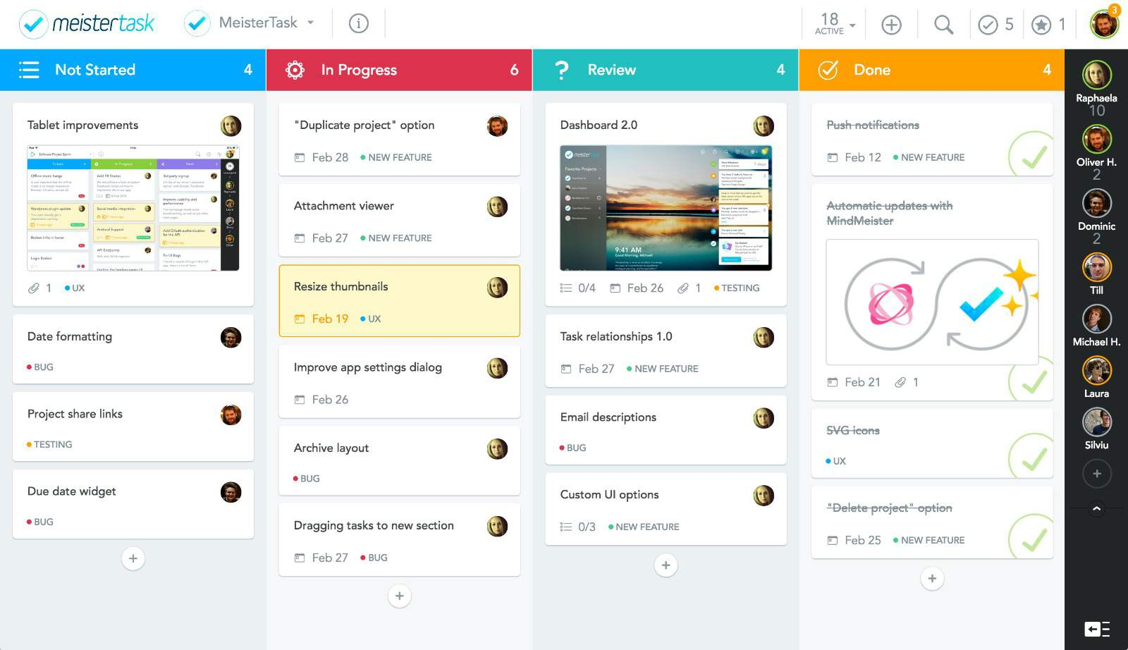 Meistertask Visual Task Management From Mindmeister