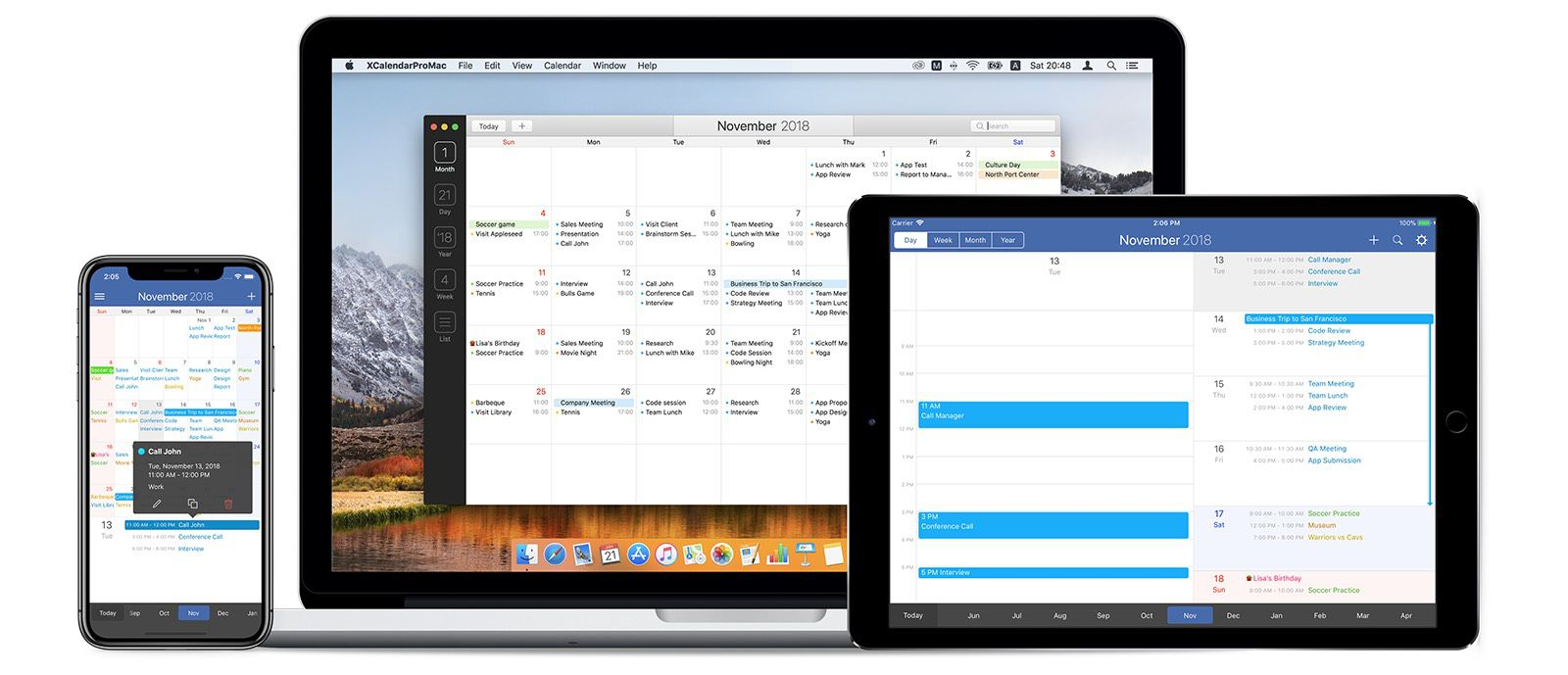 FirstSeed Calendar: Free calendar for iPhone - BrettTerpstra com