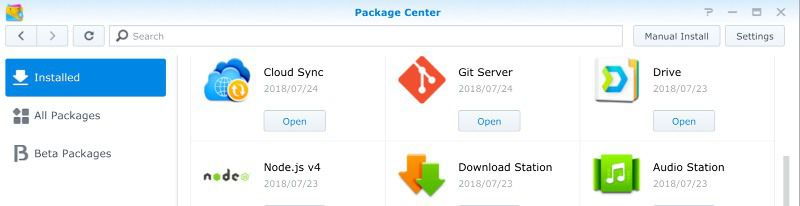 Setting up a non-root Git server on Synology DiskStation