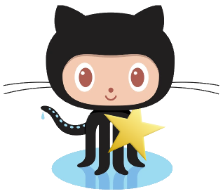 Octocat with star